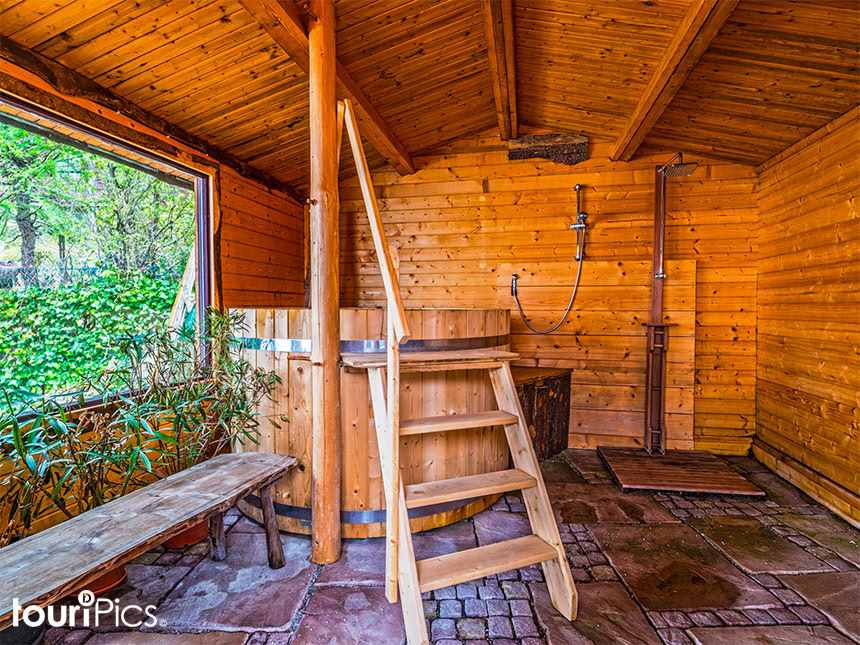 Aussen-Sauna