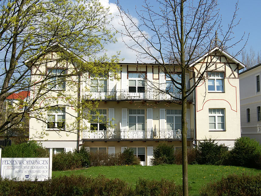 Ostsee 8 Tage Kühlungsborn Reise Appartement-Ha...
