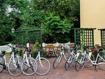 Terrasse-Fahrrad