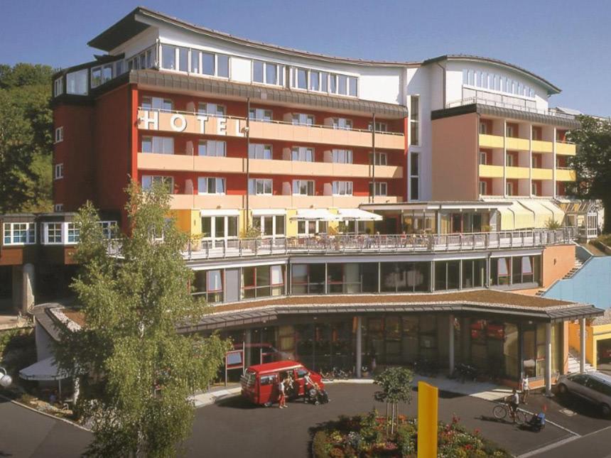 Franken 3 Tage Kurz-Reise Savoy Hotel Bad Merge...