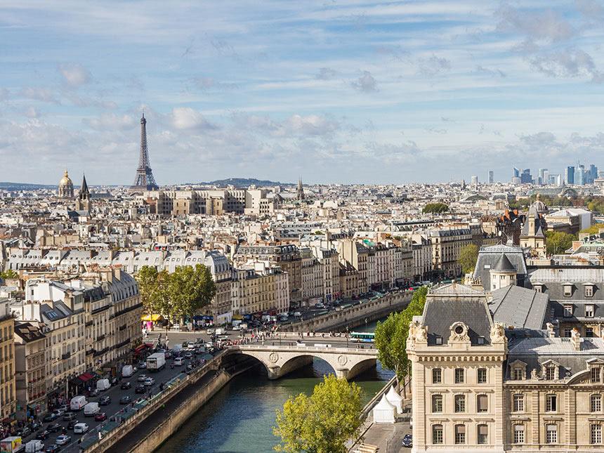 Paris 3 Tage Hotel Transcontinental Städtereise...