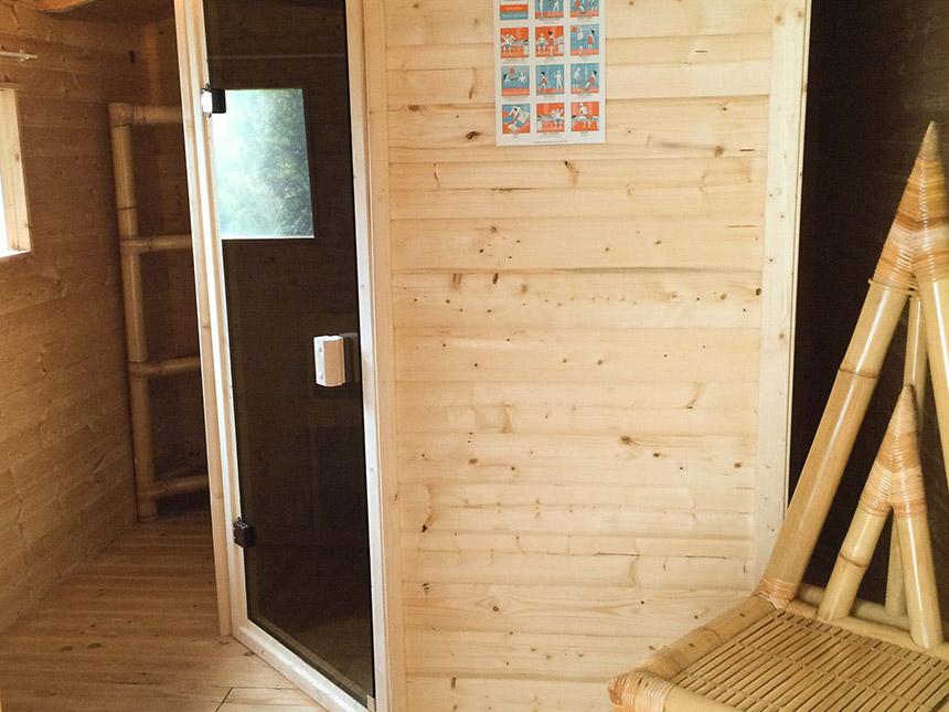 Infrarot-Sauna