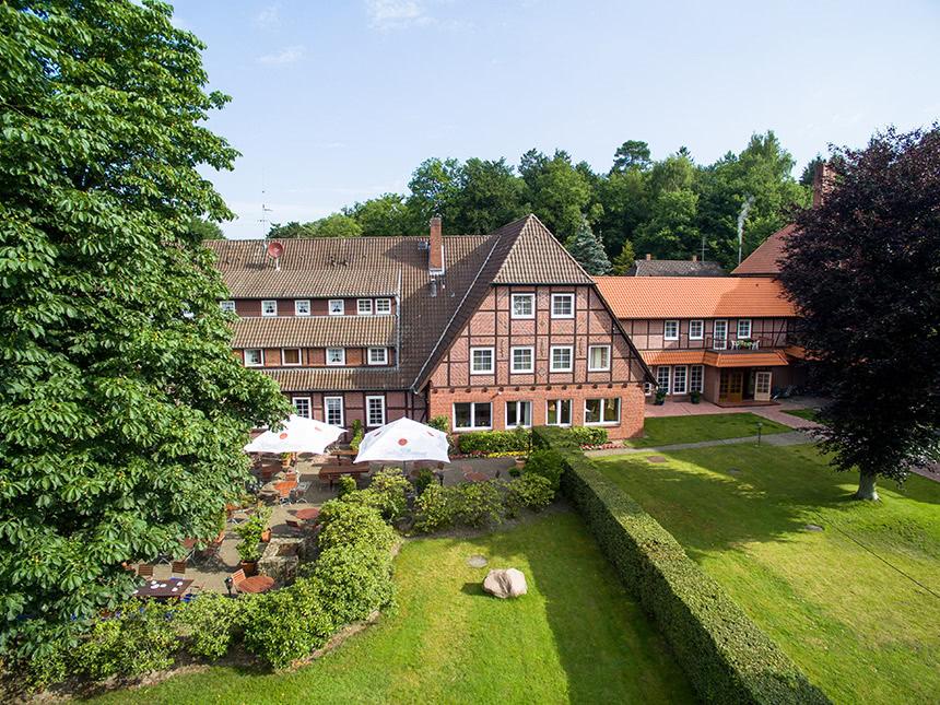 4 Tage Urlaub in der Lüneburger Heide im Hotel Hof Sudermühlen mit Frühstück