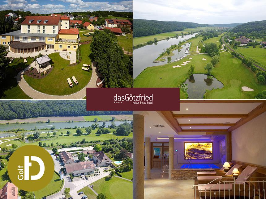 6 Tage Golf Urlaub im Hotel das Götzfried in Regensburg mit 3/4-Pension