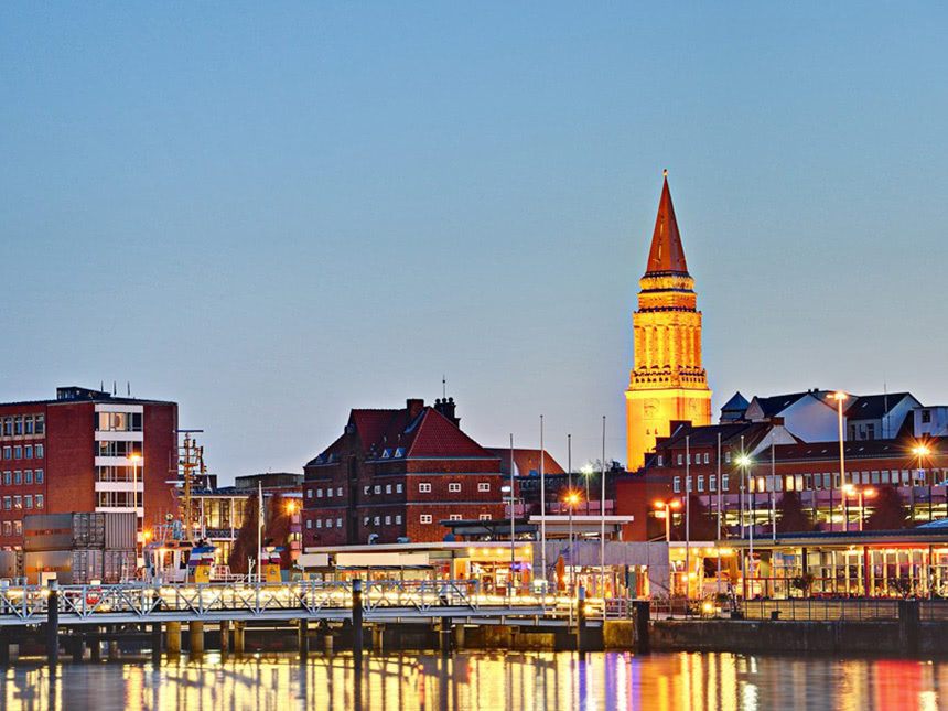 5 Tage Kurzurlaub in Kiel an der Ostsee im nord...