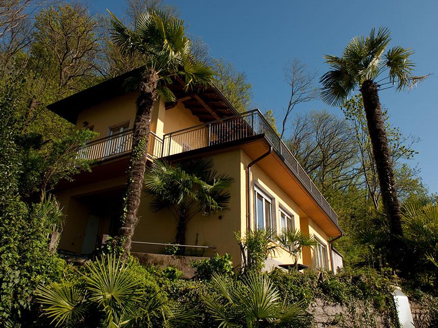 8 Tage Urlaub in Luino am Lago Maggiore in der Ferienwohnung Residenz