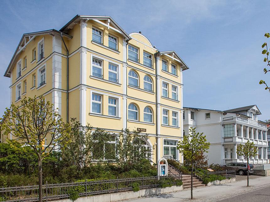 6 Tage Urlaub in der Ferienwohnung Villa Stolzenfels in Sellin auf Rügen