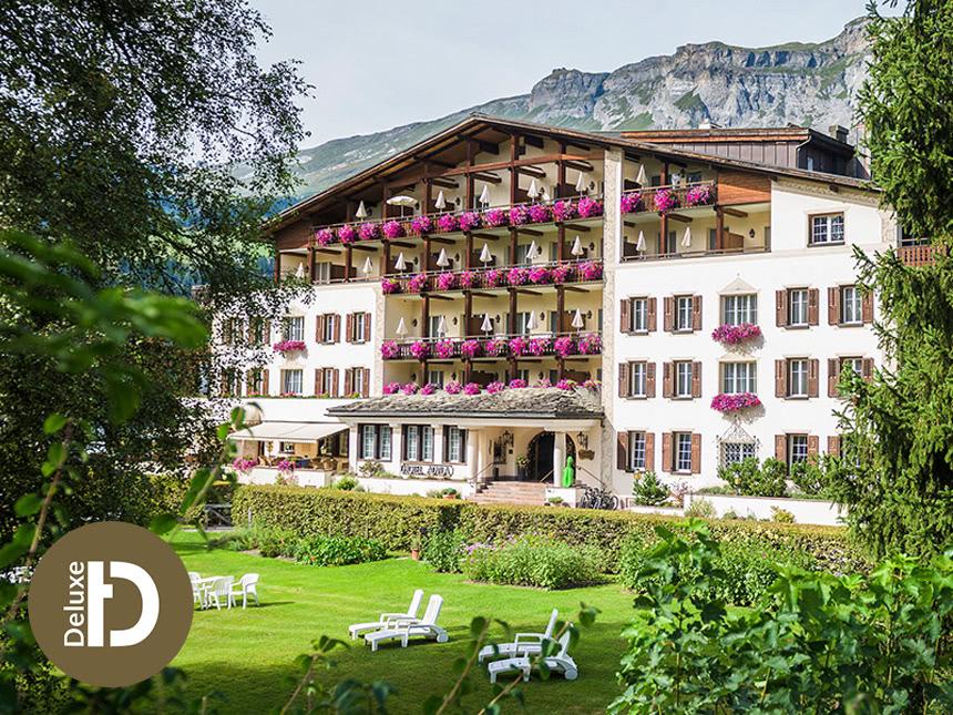 8 Tage  Urlaub im Hotel Adula in Flims in der Schweiz mit Halbpension