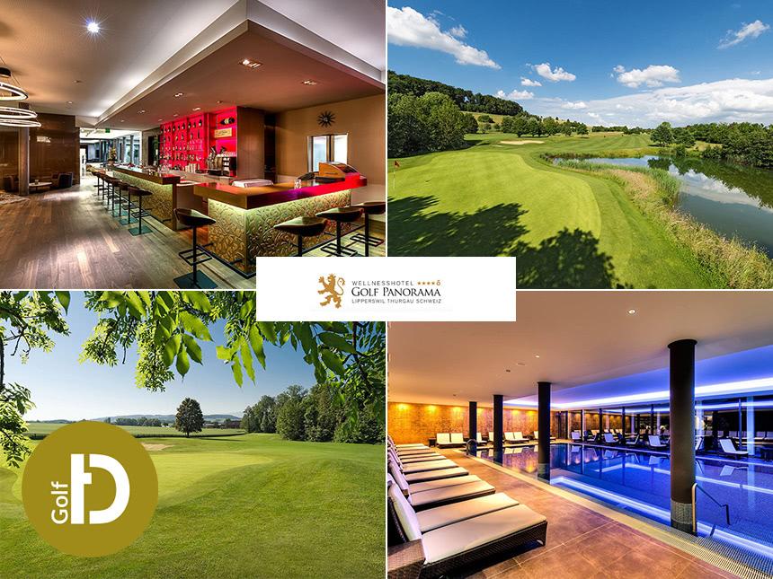 4 Tage Golf Urlaub im Wellnesshotel Golfpanorama in Lipperswil mit Halbpension