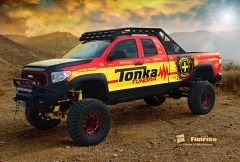 Toyota Tundra Monster Truck shown at SEMA