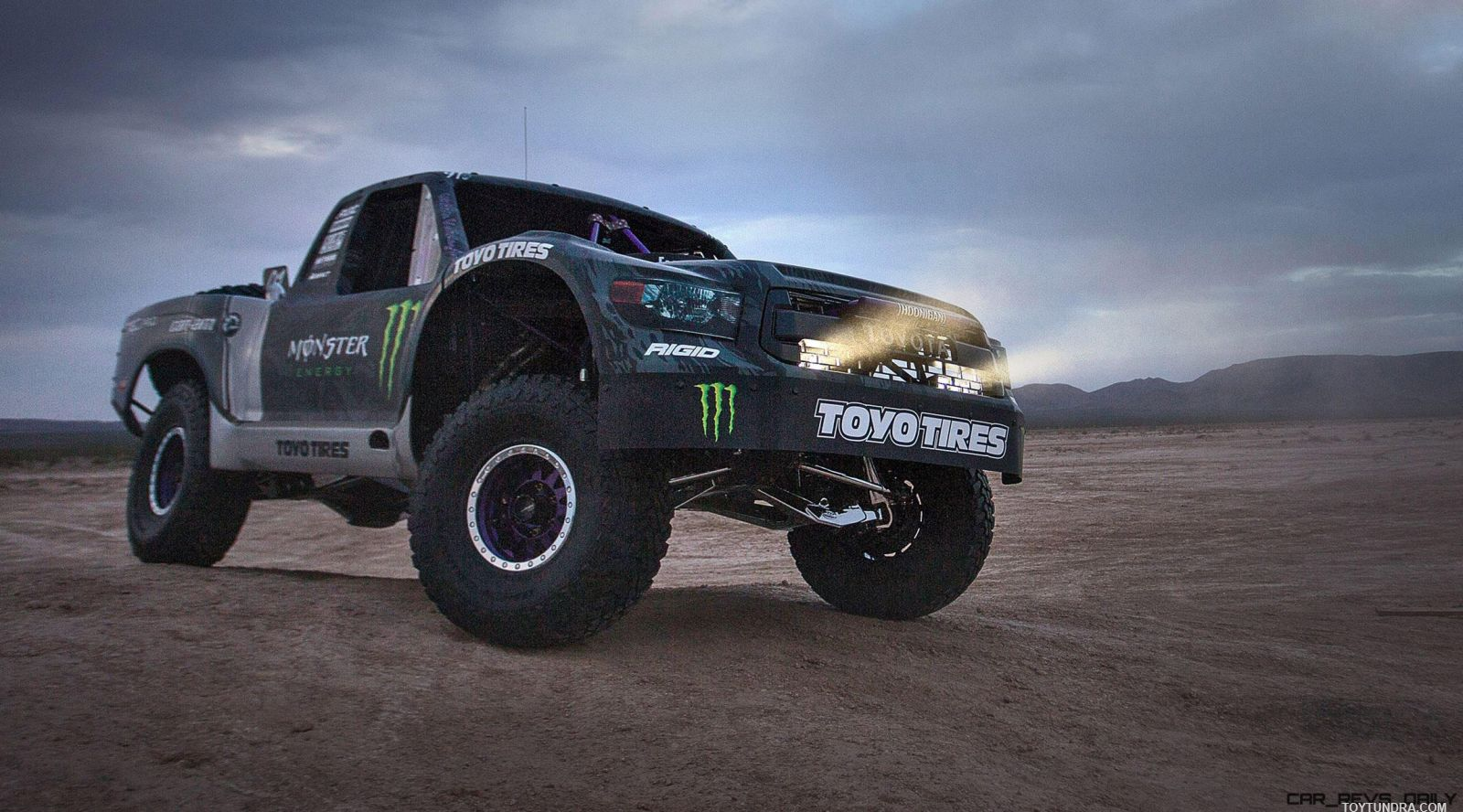 Toyota TRD Pro Trophy Truck 2016