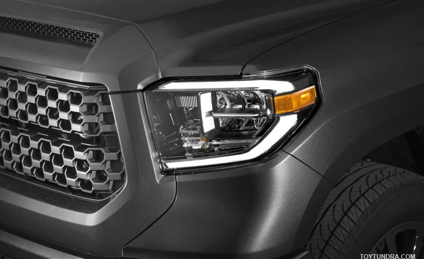2018 Toyota Tundra TRD Sport LED фары