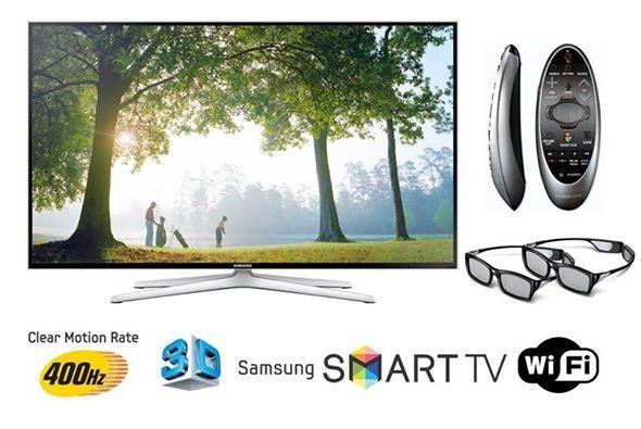 Samsung UE40H6400 (400Гц, Full HD, Smart, Wi-Fi, 3D, пульт ДУ Touch Control)
