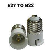 фото  (адаптер, конвертер, разъем) для патрона с Е27 на В22
