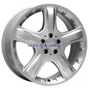 фото For Wheels ME 419f (Mercedes) 8,5x20 5x112 ET60 DIA66,6 (silver)