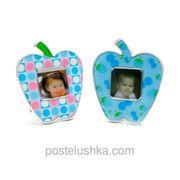 "фото ""Фоторамка яблоко"" (10Х8,5 см)"