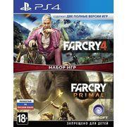 фото Игра Far Cry Primal + Far Cry 4 для Sony PS 4 (русская версия)