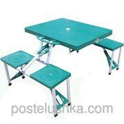 фото Комплект раскладной мебели стол и 4 стула HXPT-8821-B