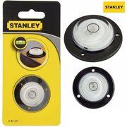 фото Круглый уровень Stanley диаметр 25 мм спиртовой