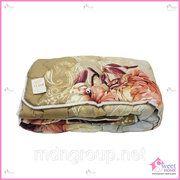 фото Одеяло стеганое полушерстяное 140*205
