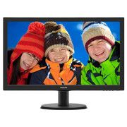 "фото Philips 23.6"" 243V5QHSBA/01 MVA Black"