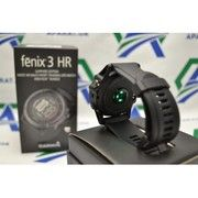 фото Спортивные часы Garmin fenix 3 HR Sapphire Gray with black silicone band