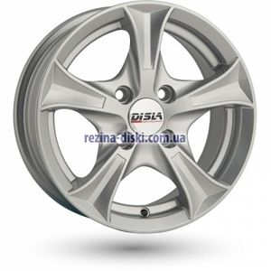 фото Disla Luxury 7,5x17 5x108 ET40 DIA67,1 (silver)