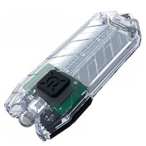 фото Фонарь Nitecore TUBE (Cree XP-G R5, 45 люмен, 2 режима, USB), прозрачный
