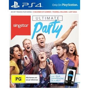 фото Игра Singstar: Ultimate Party (Короли вечеринок) для Sony PS 4