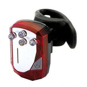 фото LED,задний светодиодный фонарь, фонарик для велосипеда LONGUS 4LED  (задний велофонарь, задний свет, мигалка)
