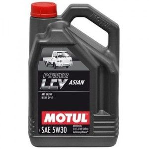 фото Моторное масло Motul Power LCV Asian 5W-30 5л