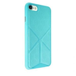 фото Ozaki O!coat 0.3+Totem Versatile case with stand for iPhone 7 Blue OC777BU