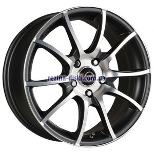 фото Racing Wheels H-470 6x14 4x98 ET38 DIA58,6 (BK-F/P)