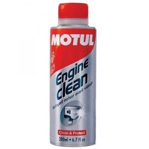 фото Motul Промывка масляной системы мотоциклов Engine Clean Moto 200мл
