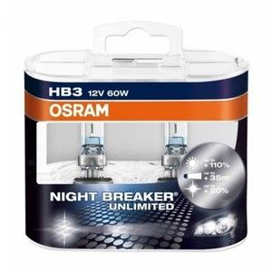 фото Osram HВ3(9005) Night Braker Unlimited 12V 60W (9005NBUHCB)