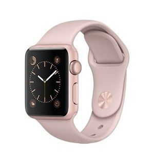 фото Apple Watch Series 2 38mm Rose Gold Aluminum Case with Pink Sand Sport Band (MNNY2)