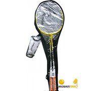 фото HEAD Nano ti Elite 2 bm set yellow (2 ракетки, 3 волана)