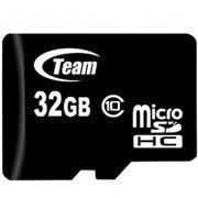 фото Карта памяти Team 32 GB microSDHC Class 10 + SD Adapter (TUSDH32GCL1003)