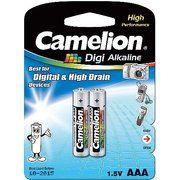 фото Camelion AAA bat Alkaline 2шт Digi Alkaline (LR03-BP2DG)