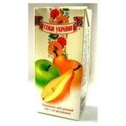 фото Соки України Сок груша-яблоко 1л
