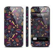 фото Qsticker Виниловая наклейка для iPhone 5 Clipart Pero