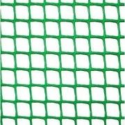 фото Садовая ограждающая сетка Клевер (Забор 13х13мм) зеленая 20м