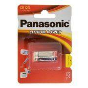 фото Panasonic 16340 (CR-123A) bat(3B) Lithium 1шт (CR-123AL/1BP)