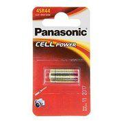 фото Panasonic 4SR44 bat(6.2B) Silver Oxide 1шт (4SR-44EL/1B)