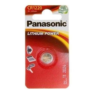 фото Panasonic CR-1220 bat(3B) Lithium 1шт (CR-1220EL/1B)