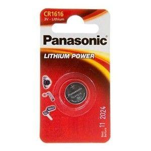 фото Panasonic CR-1616 bat(3B) Lithium 1шт (CR-1616EL/1B)