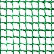 фото Садовая ограждающая сетка Клевер (Забор 85х95мм) зеленая 20м