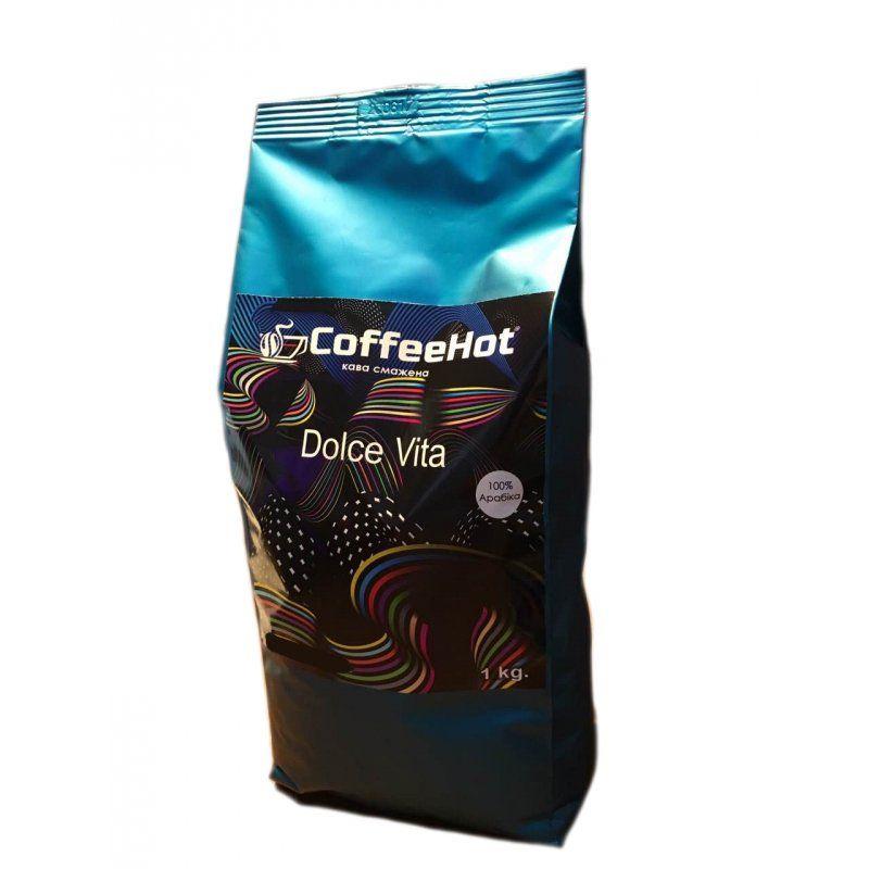 Кофе в зернах CoffeeHot Dolce Vita 1 кг.