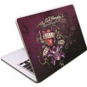 "фото Ed Hardy Love Kills Slowly MacBook 15"" Skin (SK09A02F-15)"