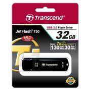 фото Transcend 32 GB JetFlash 750 Black TS32GJF750K